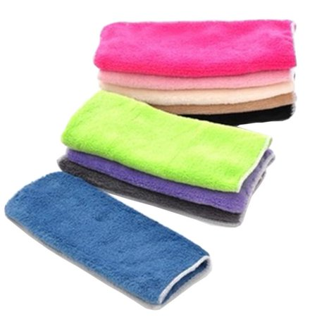Mosunx Anti-grease Cloth Bamboo Fiber Washing Towel Magic Kitchen Cleaning Wiping Rags