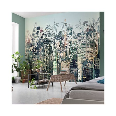 Brewster home fashions komar urban jungle 145 39 x 100 for Brewster home fashions wall mural