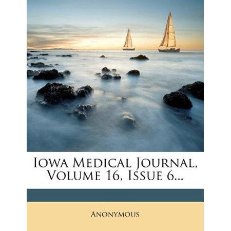 Iowa Medical Journal, Volume 16, Issue (Iowa Journal)