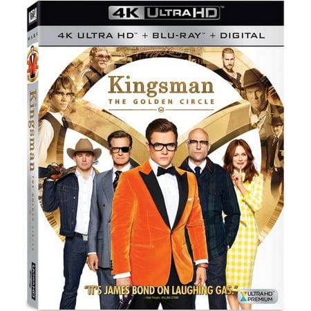 Kingsman: The Golden Circle (4K/UHD + Blu-ray + Digital)