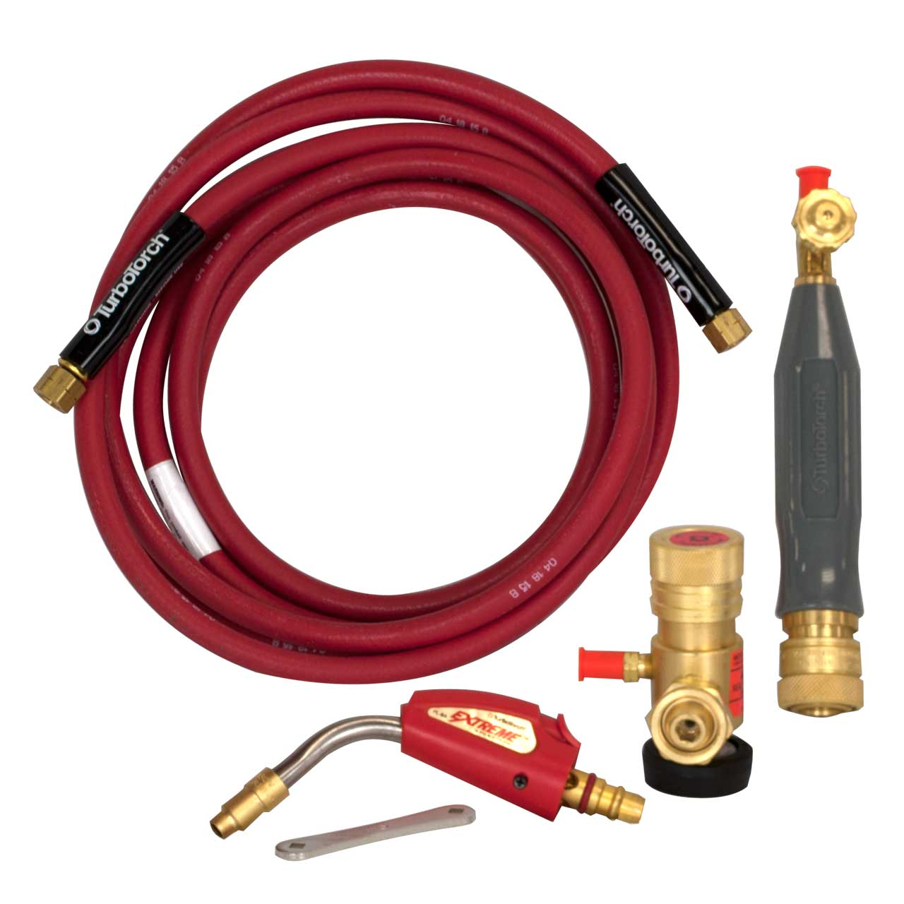 TurboTorch Pro-Line  Swirl Air Acetylene Kits - pl-8a dlx. b kit (15psi acety.)