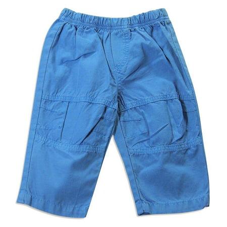Whatever Kids Wanna Wear - Baby Boys Pant Blue / 6 (Blue Boys Pants)