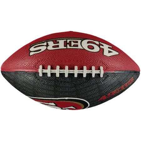 San Francisco 49ers Gridiron Junior Size Football - No (San Francisco 49ers Limited Edition Football)