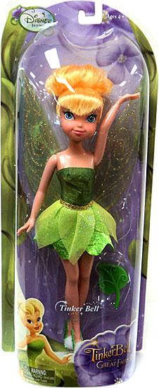 Disney Fairies Tinker Bell & The Great Fairy Rescue Tinker Bell Doll by Jakks