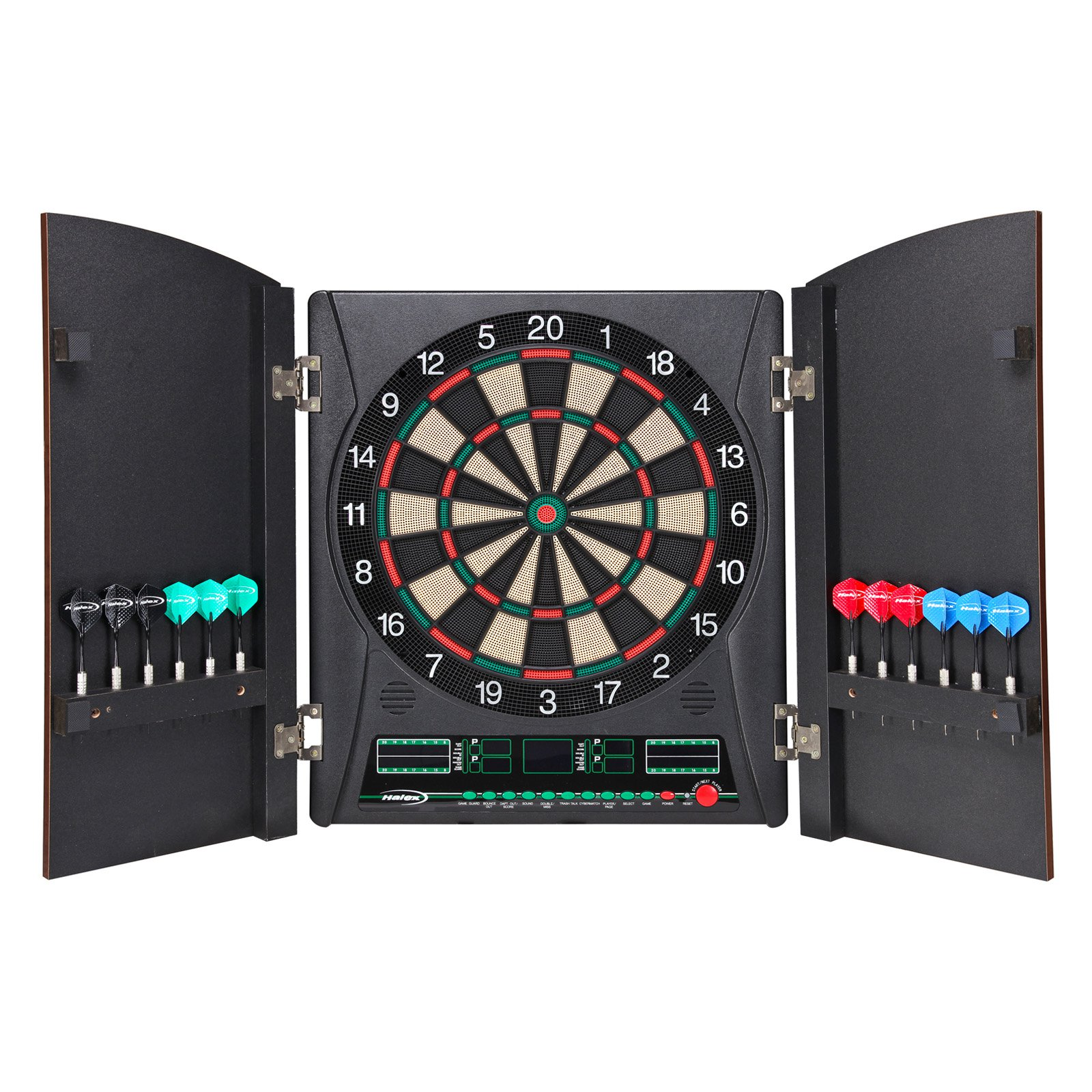 Halex Millennia Dartboard with 38 Games and 167 Variations