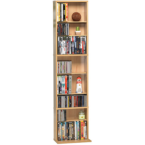 "Atlantic Inc Summit 54"" Shelf Media Storage Tower in Maple"