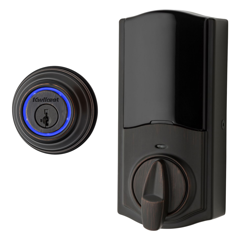 Kwikset 99250-203 Venetian Bronze Kevo 2nd Gen Touch-To-Open™ Bluetooth Key & Electronic Smart Door