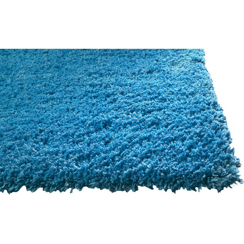 KAS Rugs Bliss Highlighter Blue Area Rug