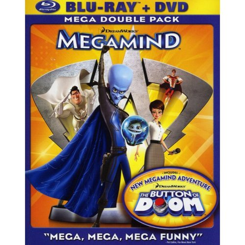 Megamind (Blu-ray   Standard DVD)         (Widescreen)