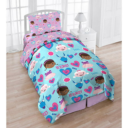 Doc Mcstuffins Twin Bedding Set Smiles Hugs Comforter