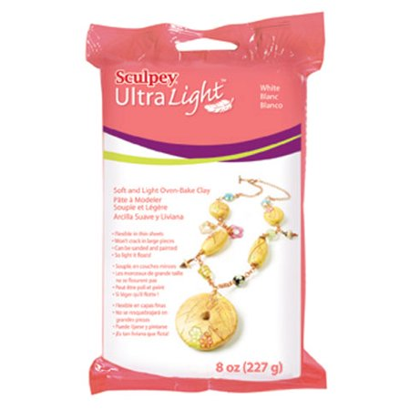 Sculpey Ultralight 10.3 Ounce White Clay, 1 Each