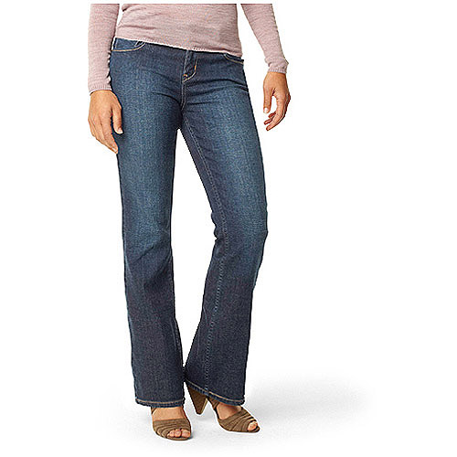 Signature by Levi Strauss & Co. Women's Mid-Rise Bootcut Jeans