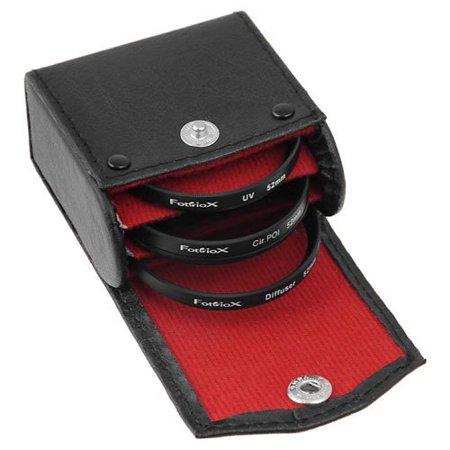 Fotodiox Filter Kit, UV, Circular Polarizer, Soft Diffuser For Canon, Nikon, Sony, Olympus, Pentax, Panasonic Camera Lenses. ()