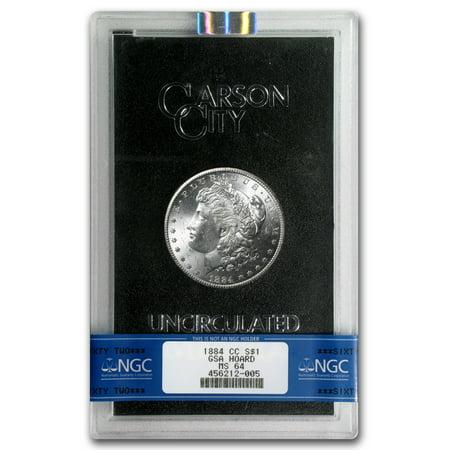 1884-CC Morgan Silver Dollar MS-64 NGC (GSA) Silver Morgan Dollar