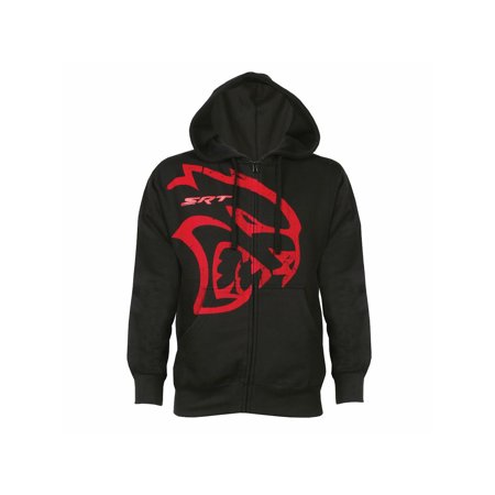 Unisex Adult Officially Licensed Dodge Hellcat Zippered Hoodie