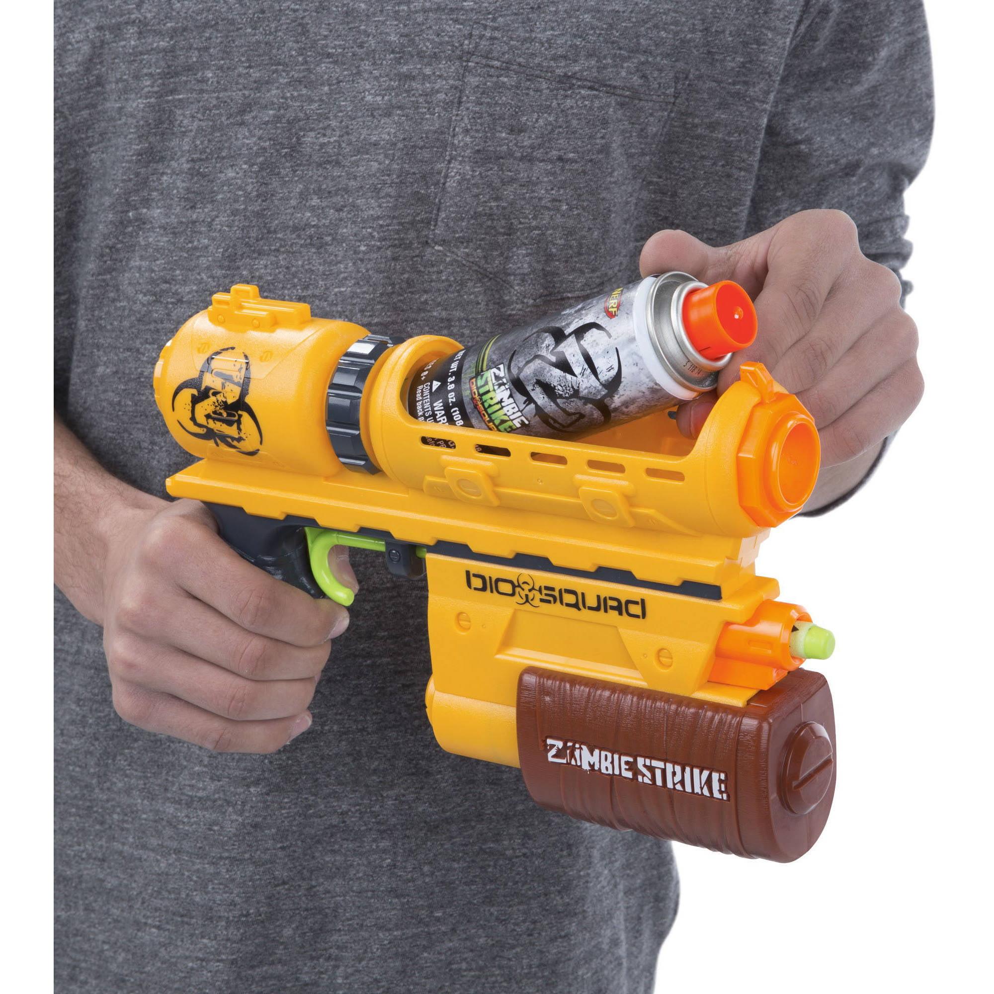nerf zombie strike biosquad zombie eraser zr 100 blaster walmart