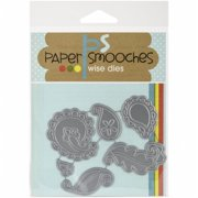 Paper Smooches J3D246 Die - Paisleys