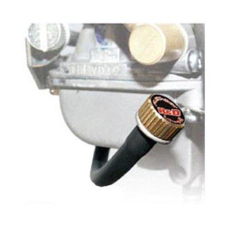 R & D Racing Products FLEX-TECH FUEL SCREW Flex-Jet Remote Fuel Screw