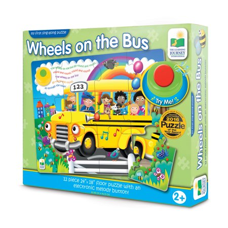 My First Sing Along Puzzle, Wheels on the Bus - Halloween Puzzles For 1st Grade