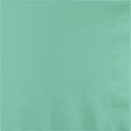 Club Pack of 500 Fresh Mint Green Premium 3-Ply Disposable Paper Luncheon Napkins 6.5
