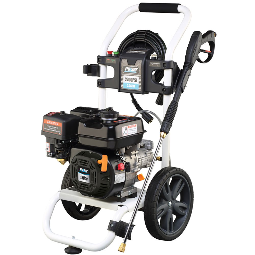 PULSAR GAS PRESSURE WASHER 2700PSI HORIZONTAL