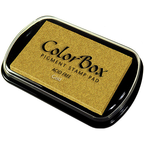 Clearsnap ColorBox Metallic Pigment Inkpad Gold 19000-19091 Multi-Colored