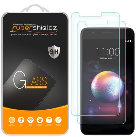 [2-Pack] Supershieldz for LG Premier Pro LTE Tempered Glass Screen Protector, Anti-Scratch, Anti-Fingerprint, Bubble Free Palm Pre Screen Protector