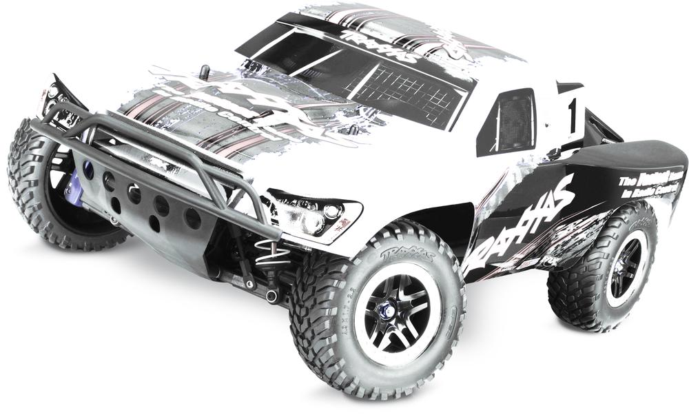 Traxxas Tra68077-24 Slash 4X4 Ultimate, 1 10 S.C Truck Rtr, W  Tsm And Oba Truck by TRAXXAS