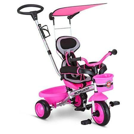 Schwinn Easy Steer Tricycle-Color:Pink,Size:8