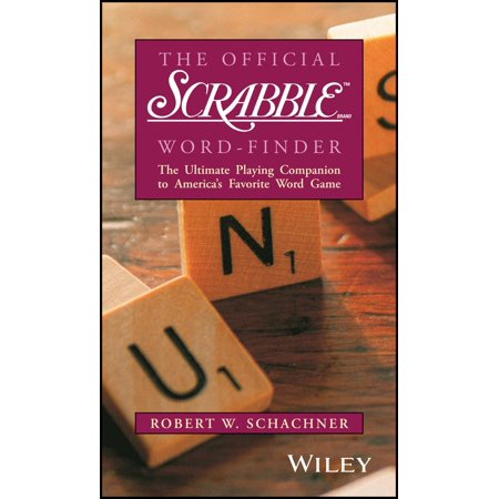 The Official Scrabble Brand Word-Finder (Make A Word Using These Letters Scrabble)