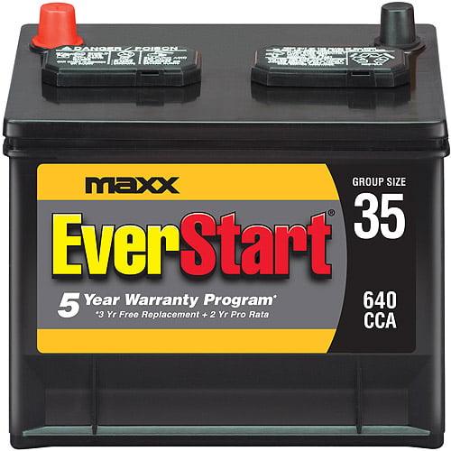EverStart Maxx Lead Acid Automotive Battery, Group Size 35N