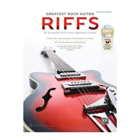 The Greatest Rock Guitar Riffs : Guitar Tab, Book & DVD-ROM - Greatest Soft Rock Guitar
