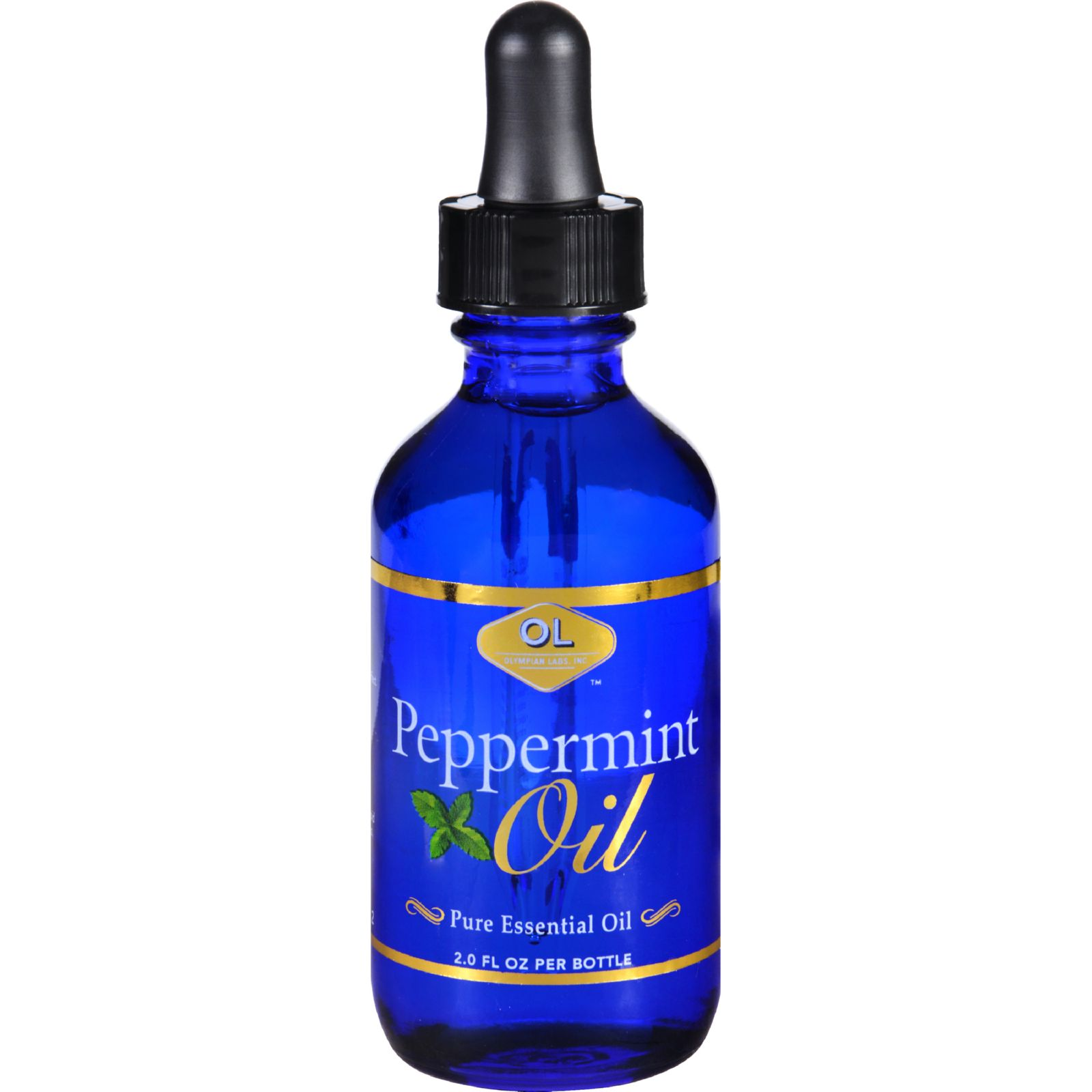 Olympian Labs Peppermint Pure Essential Oil, 2 fl oz