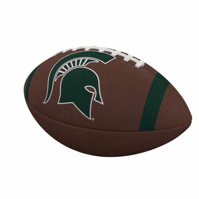 Michigan State University Team Stripe Official-Size Composite Football