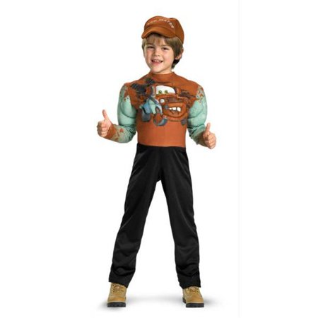 costumes for all occasions dg27252l tow mater muscle 4-6