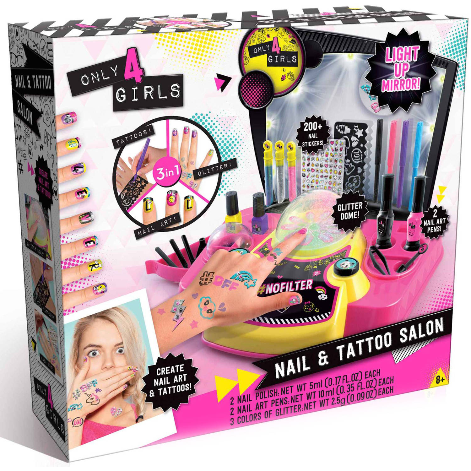 ALEX Toys Spa Fun Mix & Make Up Lip Shimmer Walmart