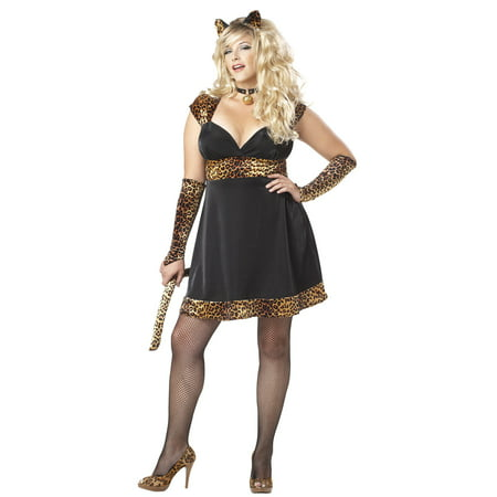 Plus Size Hello Kitty Costume (Sexy Kitty Plus Size Costume)