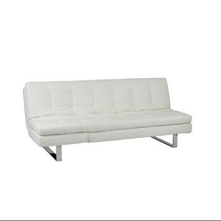 Euro Style 05002wht Erik Sofa Bed In White