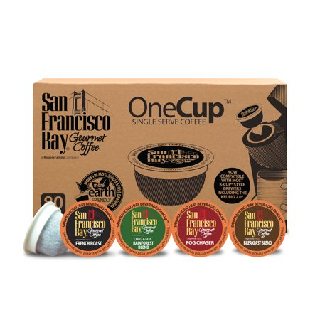 (San Francisco Bay OneCup Coffee Pods, Variety Pack, 80 Count)