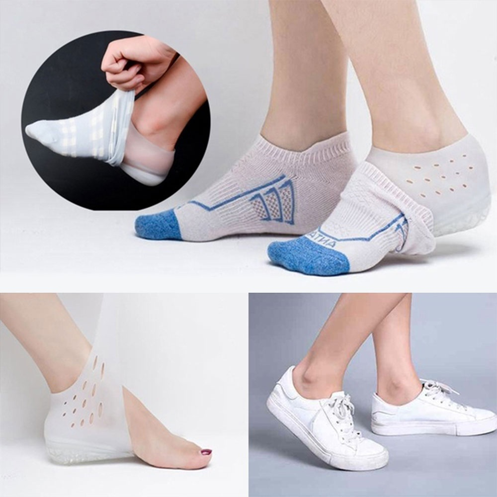 Invisible Hight Increase Shoe Pad Feet Cushion Heel Pad Cup Care Insole New