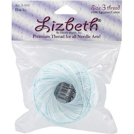 - Lizbeth Cordonnet Cotton Size 3-Blue Ice