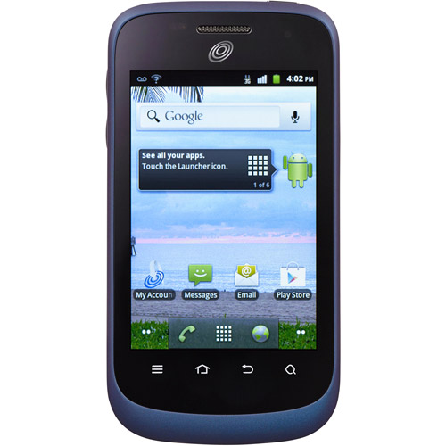 Straight Talk ZTE Midnight Prepaid Cell Phone with $45 Airtime Card