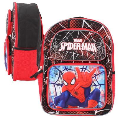 """Backpack - Marvel - Spiderman 3D Pop-Up 16"""" School Bag New 681559"""