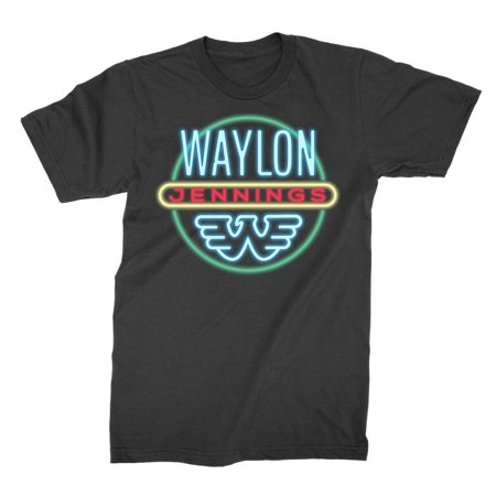 Waylon Jennings Men's Neon T-Shirt