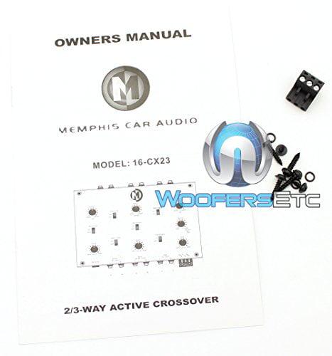 16-CX23 - Memphis 2/3-Way Active Crossover
