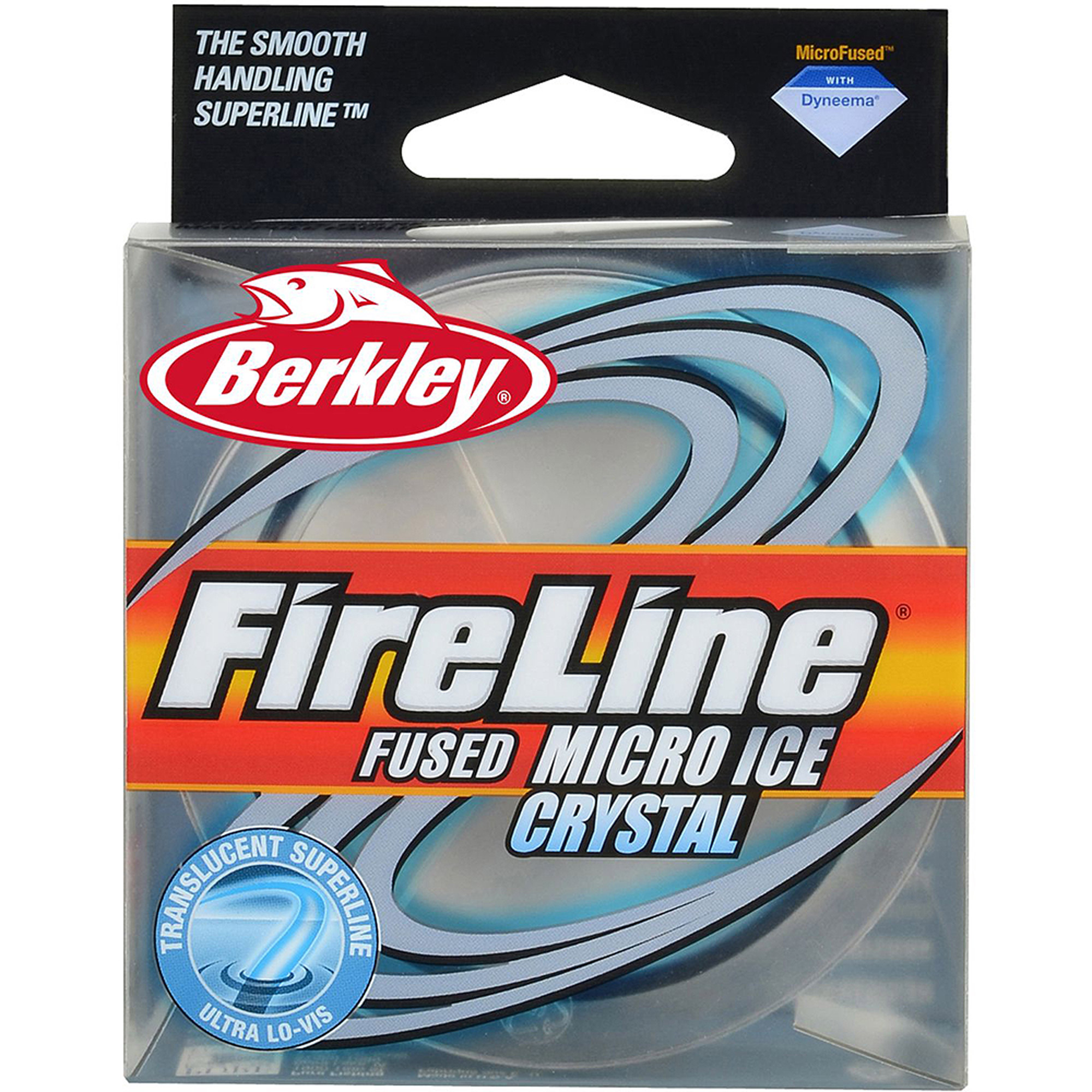 Berkley Fireline Micro Ice Fused Original Fishing Line, 50 yd Pony Spool