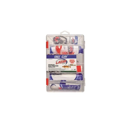 - Eagle Claw Lazer Saltwater Redfish and Trout Tackle Kit