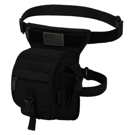 East West U.S.A. Tactical Utility Waist Belt Bag & Drop Leg Thigh Pack