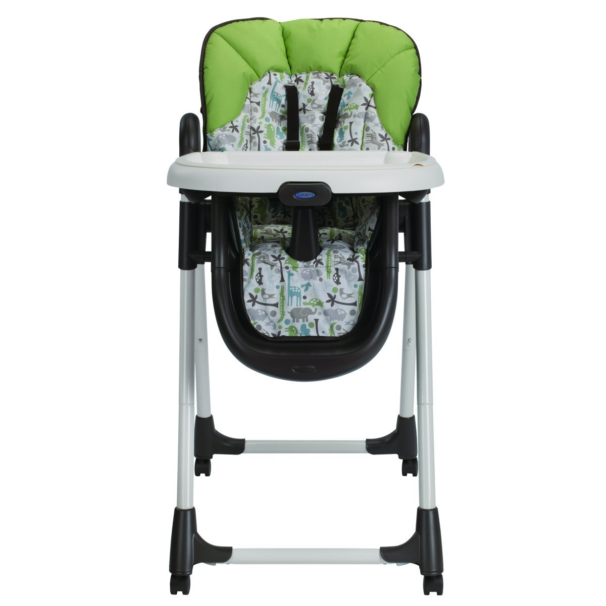 Graco Meal Time High Chair Zoofari, Brown by Graco