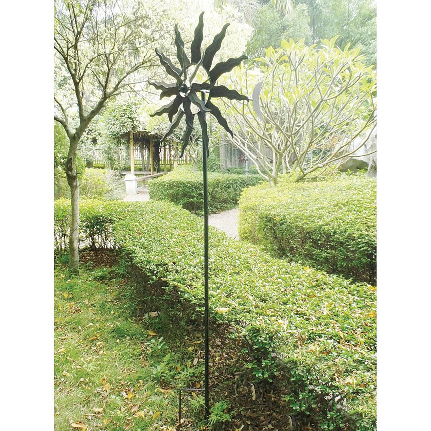 BSD National Supplies Sunshine Rotating Garden Windmill by Overstock